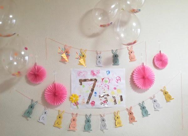 7歳娘の誕生日