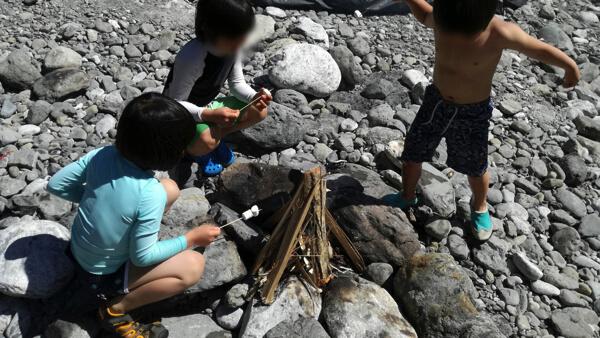 氷川キャンプ場・子供