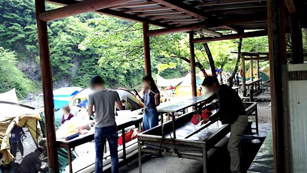 氷川キャンプ場_炊事場