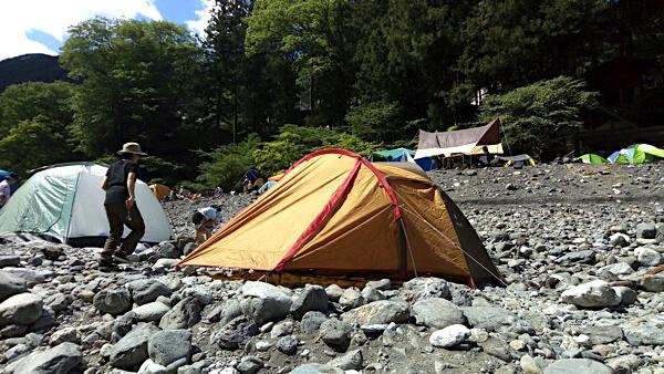 氷川キャンプ場_河原