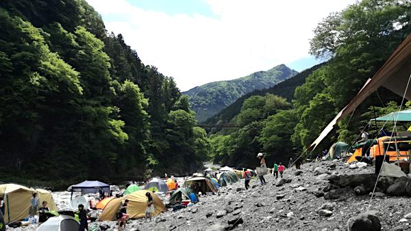 氷川キャンプ場_混雑