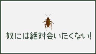 ゴキブリ_対策