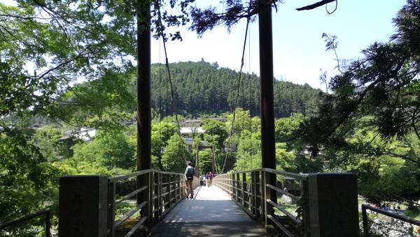 御岳渓谷_吊り橋