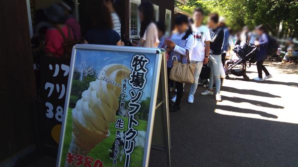 成田ゆめ牧場_ソフトクリーム