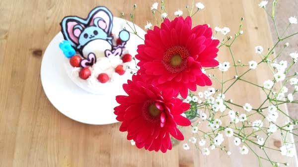 誕生日ケーキ_手作り