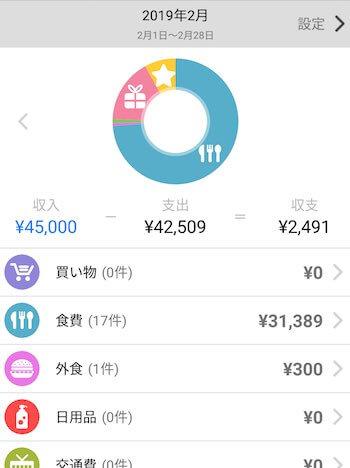 家計簿_アプリ