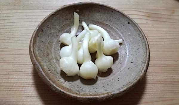 ノビル_味噌