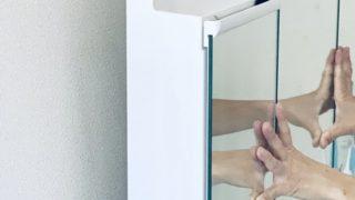 洗面所 鏡裏 ゴキブリ対策