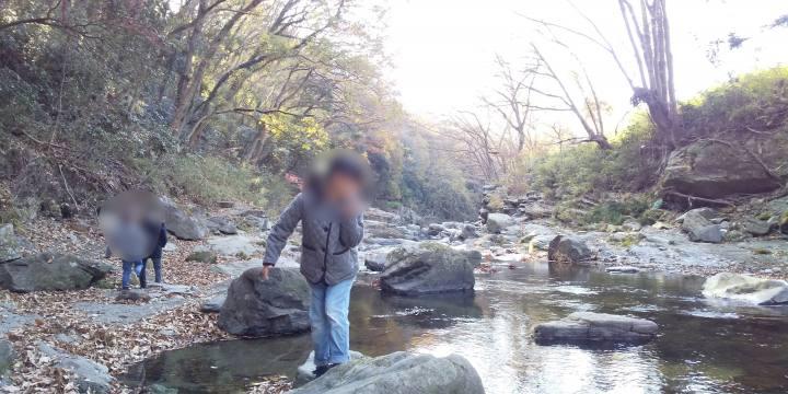 嵐山渓谷_秋